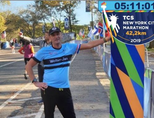 Wolter-Jan en Johan pakken de marathon in New York
